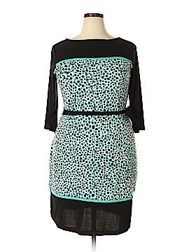 Shelby & Palmer Casual Dress Size 1X (Plus)