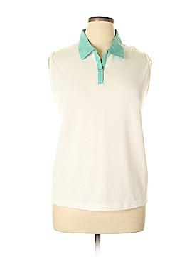 Allison Daley Sleeveless Polo Size XL