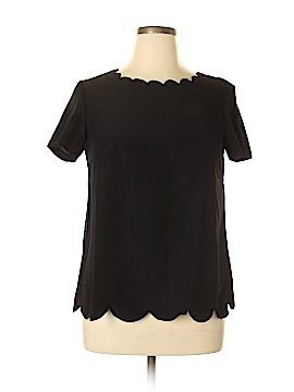 Elizabeth & Clarke Short Sleeve Blouse Size 12