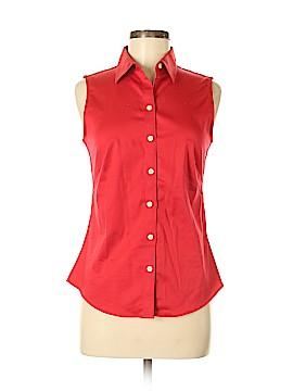 Banana Republic Sleeveless Button-Down Shirt Size 6