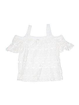 Speechless Short Sleeve Blouse Size L (Kids)