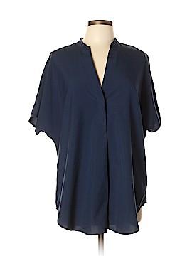 Harve Benard Short Sleeve Blouse Size L