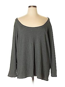 Ava & Viv Long Sleeve T-Shirt Size 4X (Plus)