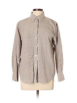 Kathie Lee Long Sleeve Silk Top Size 12