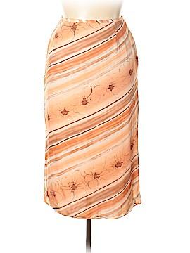 Rena Rowan Silk Skirt Size 12
