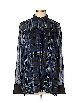 Simply Vera Vera Wang Long Sleeve Blouse Size XL