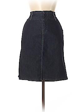 Christopher & Banks Denim Skirt Size 6 (Petite)