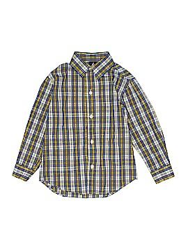 Nautica Long Sleeve Button-Down Shirt Size 5T