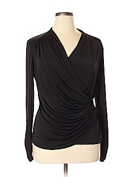 Cache Long Sleeve Blouse Size XL