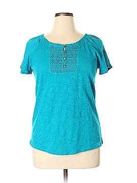 Lizwear by Liz Claiborne Short Sleeve Top Size XL