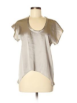 Mason Short Sleeve Silk Top Size 2