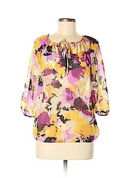 Ellen Tracy 3/4 Sleeve Blouse Size S