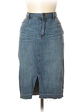 Who What Wear Denim Skirt Size 10