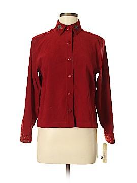 Amanda Smith Long Sleeve Blouse Size 4 (Petite)