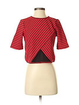 ABS Allen Schwartz Short Sleeve Blouse Size S