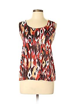 Slinky Brand Sleeveless Blouse Size L