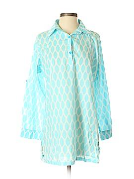 Three Islands Long Sleeve Button-Down Shirt Size S