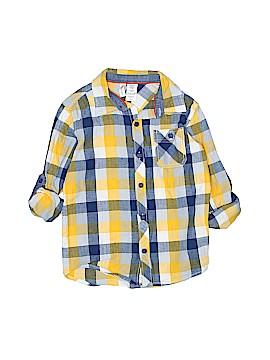 Toughskins Long Sleeve Button-Down Shirt Size 7
