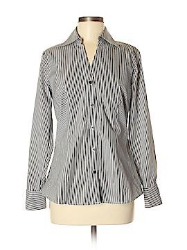 Worthington Long Sleeve Button-Down Shirt Size 8