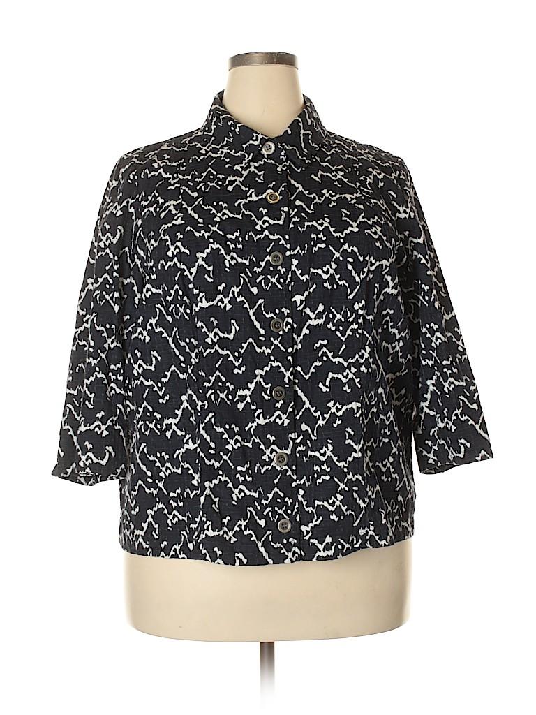 Cj Banks Women Jacket Size 2X (Plus)