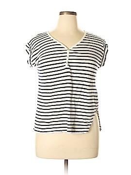 C&C California Short Sleeve Henley Size XL