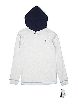 U.S. Polo Assn. Long Sleeve Henley Size 14 - 16