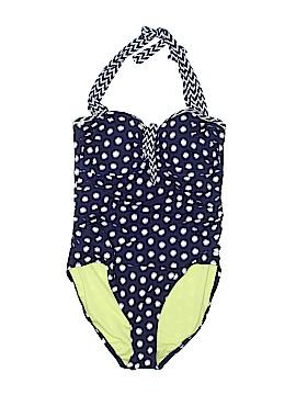 Bleu Rod Beattie One Piece Swimsuit Size 14