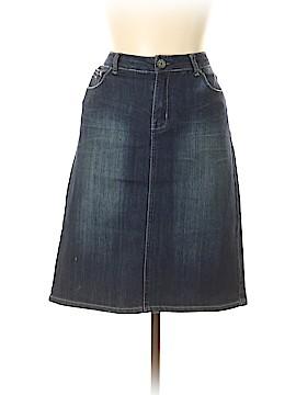 Vanilla Star Denim Skirt Size 13