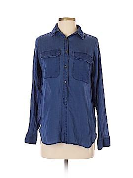 J. Crew 3/4 Sleeve Button-Down Shirt Size 2