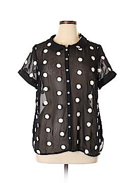 ModCloth Short Sleeve Blouse Size 1X (Plus)