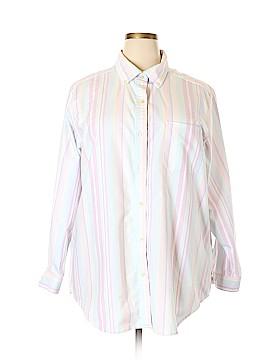 L.L.Bean Long Sleeve Button-Down Shirt Size 3X (Plus)