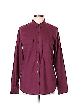 Eddie Bauer Long Sleeve Button-Down Shirt Size L (Tall)