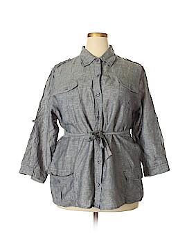 Magellan Sportswear Long Sleeve Blouse Size XXL