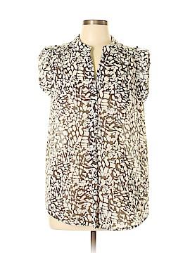 Antilia Femme Short Sleeve Blouse Size L