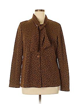 Susan Graver Long Sleeve Blouse Size L