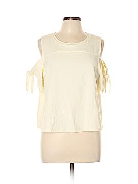 Madewell Short Sleeve Blouse Size XL