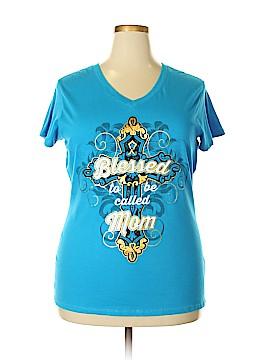 Walmart Short Sleeve T-Shirt Size 18 (Plus)