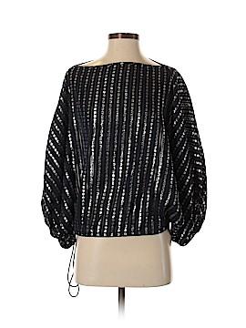 Sunner 3/4 Sleeve Silk Top Size S