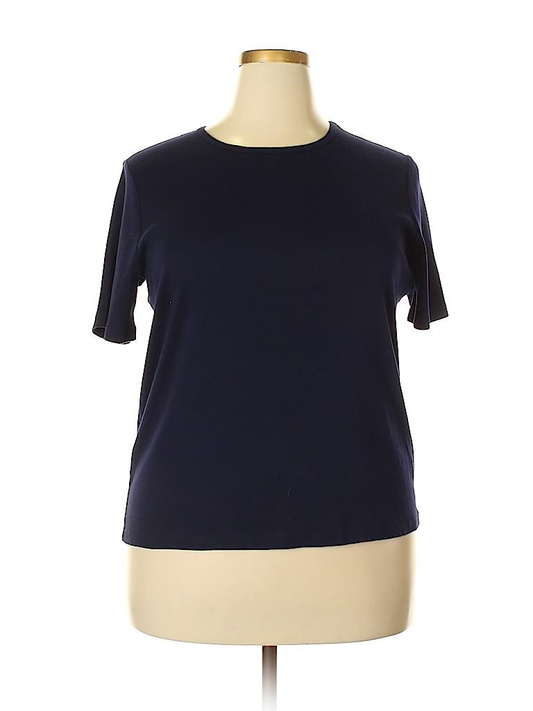 Ralph Lauren Women Short Sleeve T-Shirt Size 1X (Plus)