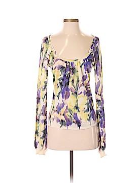 Elie Tahari Silk Pullover Sweater Size S