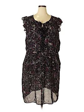DKNY Casual Dress Size 24 (Plus)