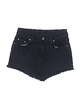 Car Mar Denim Shorts 25 Waist