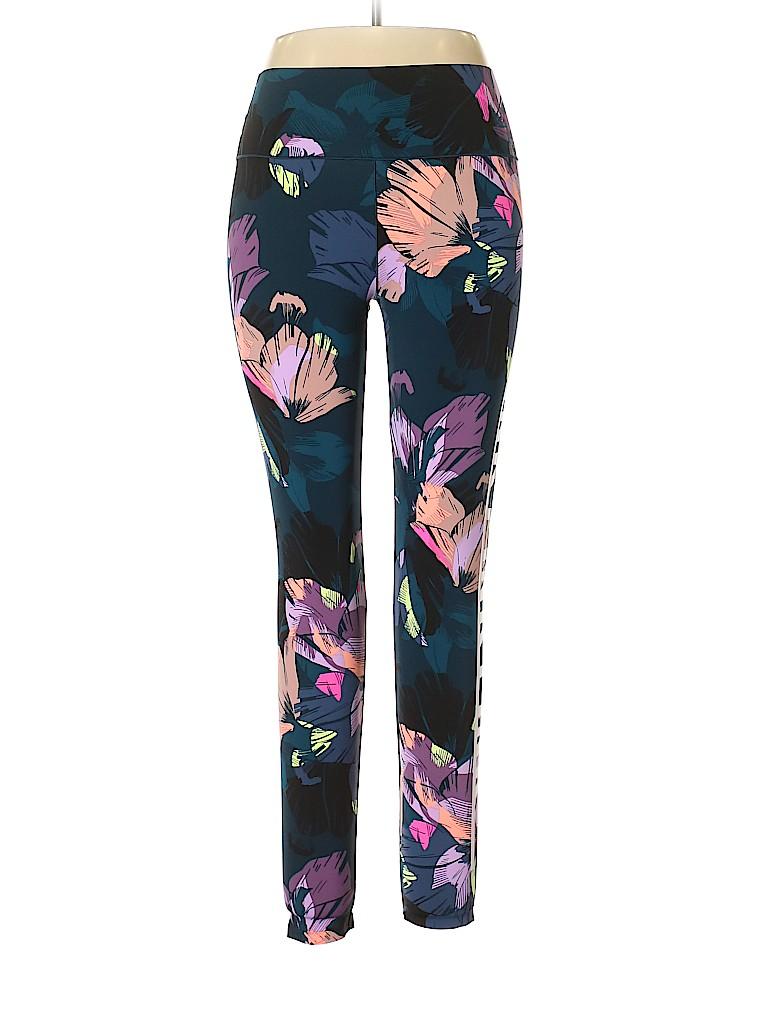 116e90f6ee77eb Victoria's Secret Print Navy Blue Leggings Size L - 44% off   thredUP