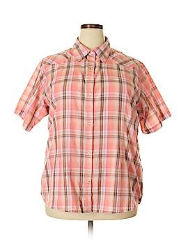 Wrangler Jeans Co Short Sleeve Button-Down Shirt Size XXL