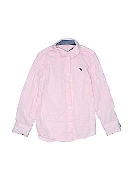 H&M L.O.G.G. Long Sleeve Button-Down Shirt Size 5T