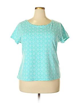 Madison Short Sleeve Top Size 2X (Plus)