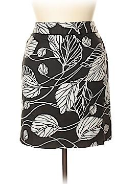 Ann Taylor LOFT Silk Skirt Size 14 (Petite)