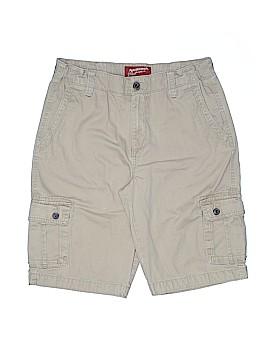 Arizona Jean Company Khaki Shorts Size 18 (Husky)