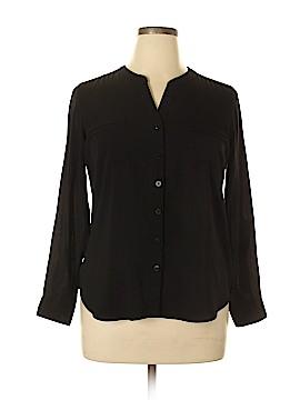 Covington Long Sleeve Blouse Size L (Petite)