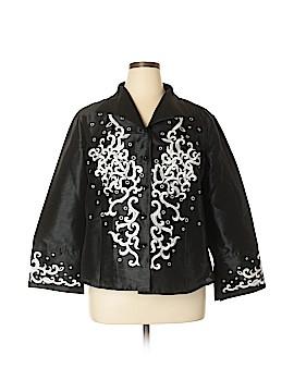 Silk Land Blazer Size 1X (Plus)